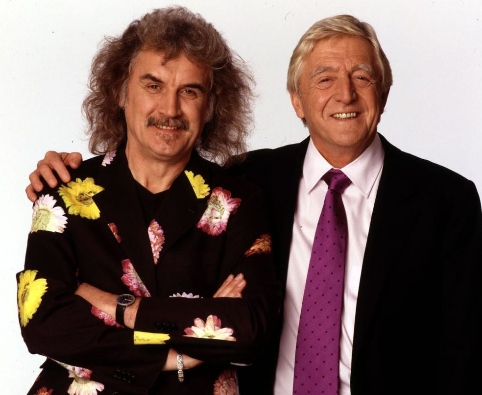 Billy Connolly with chat show host Michael Parkinson e1606839672515 20 Things You Never Knew About Billy Connolly