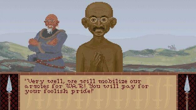 Civ 1 Gandhi 20 Of The Weirdest Video Game Glitches