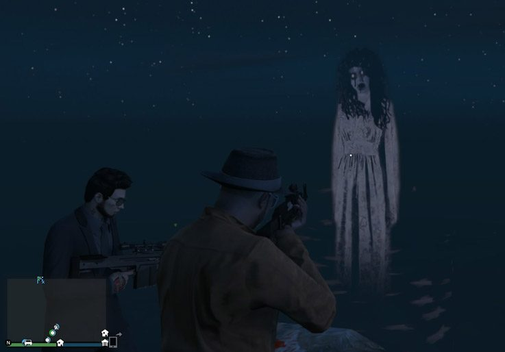 Ghost of Mt. Gordo Close Up GTA V Easter Eggs e1604505991550 20 Creepiest Video Game Easter Eggs