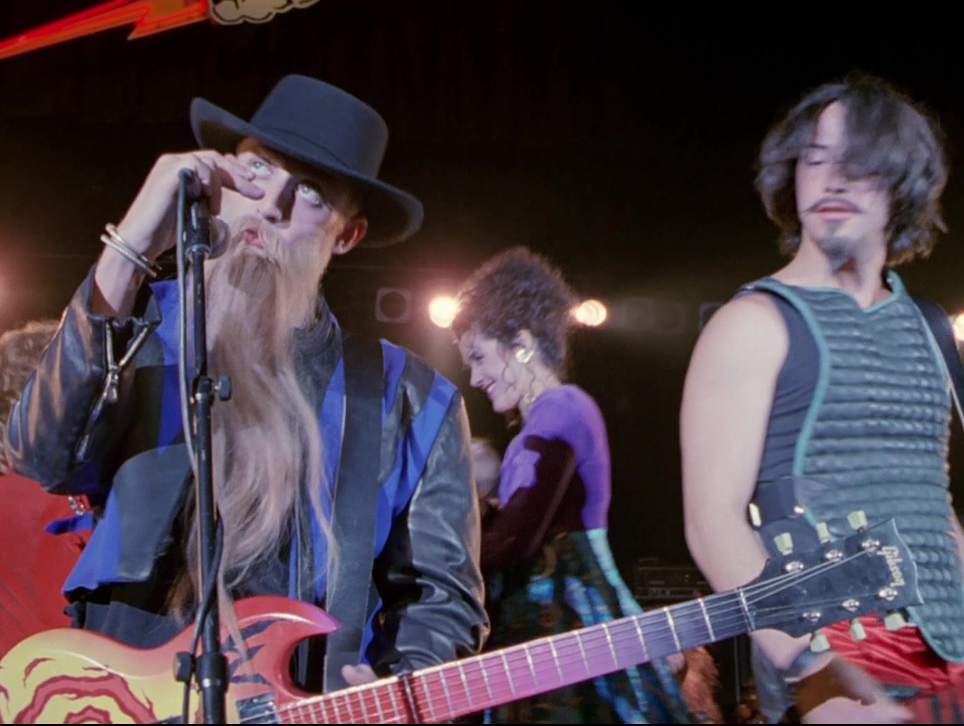 Gibson Guitar in Bill Teds Bogus Journey 1 e1606223547183 30 Most Triumphant Truths About Bill & Ted's Bogus Journey