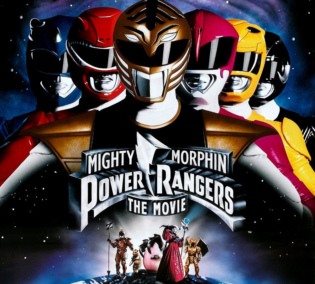 Mighty Morphin Power Rangers Movie movie poster e1605717170155 20 High-Kicking Facts About Mighty Morphin Power Rangers