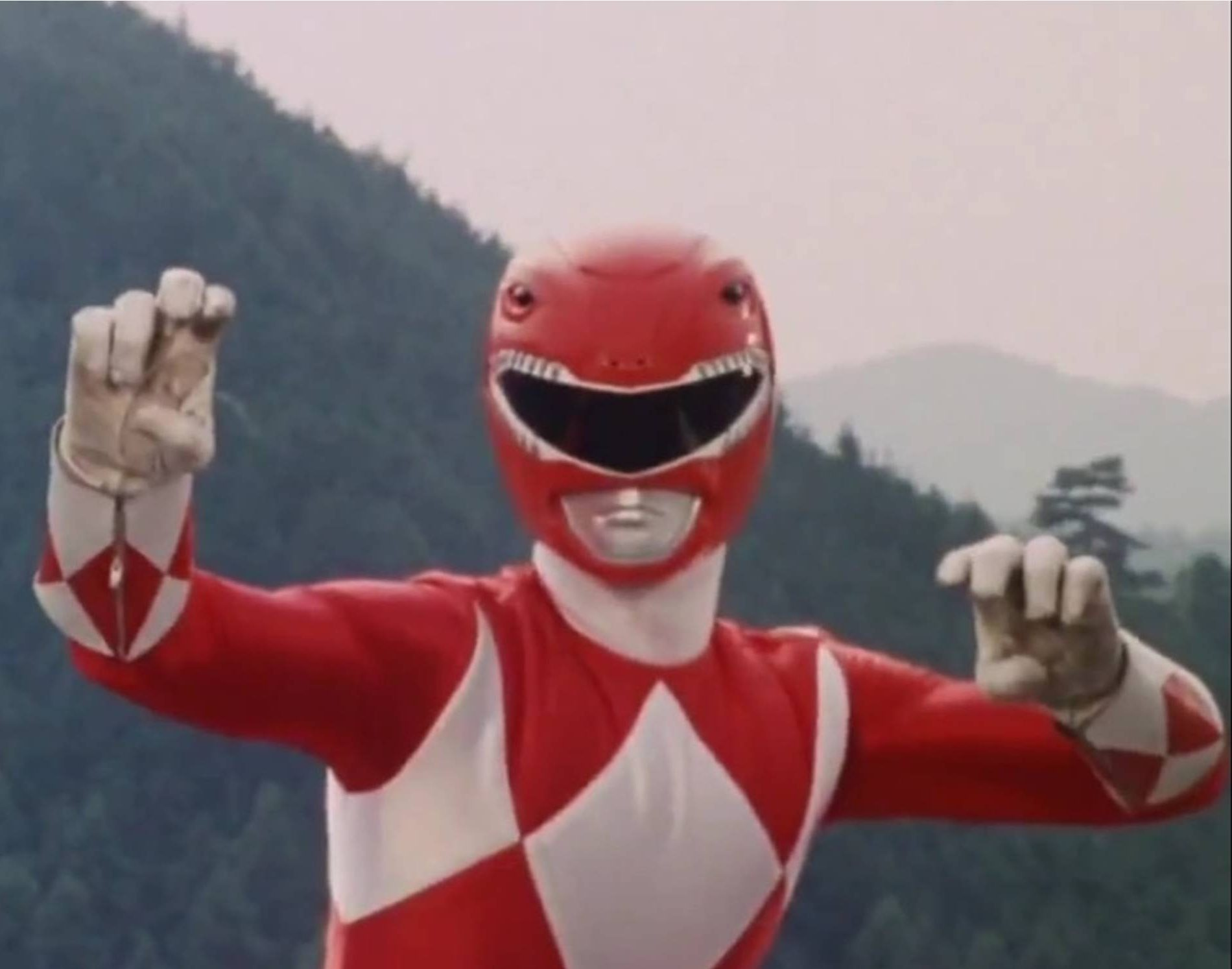 Mighty Morphin Red Ranger Pose e1606297997844 20 High-Kicking Facts About Mighty Morphin Power Rangers