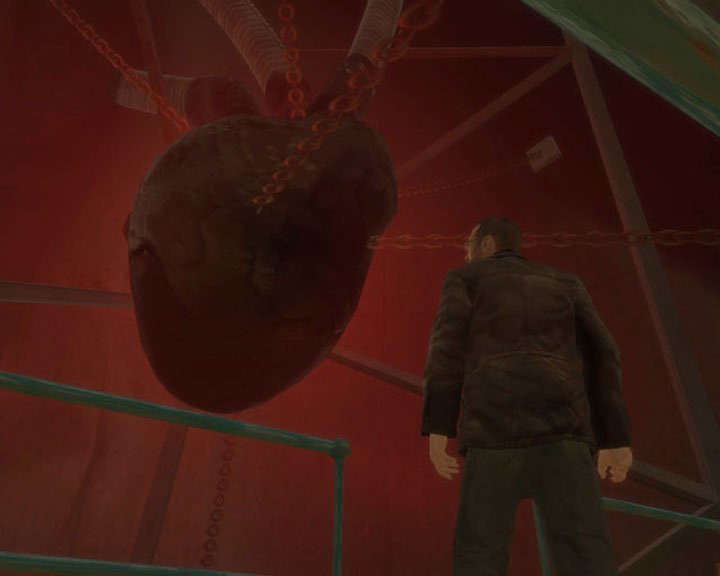 The Heart of Liberty City Grand Theft Auto IV Easter Eggs 20 Creepiest Video Game Easter Eggs