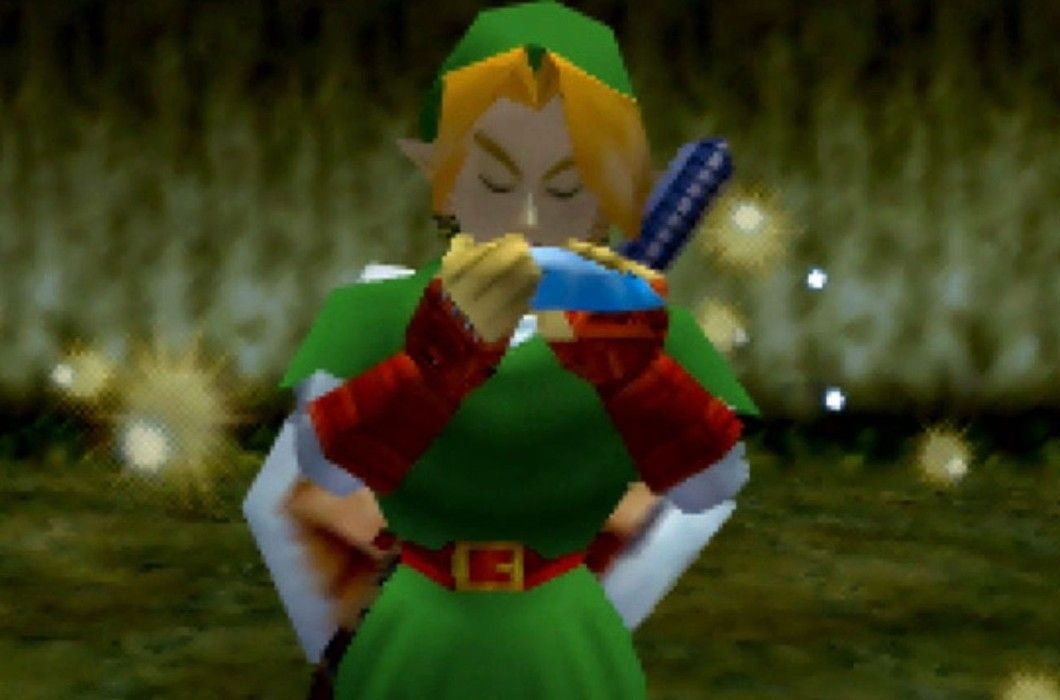 The Legend of Zelda Ocarina of Time Link e1605096479322 20 Of The Weirdest Video Game Glitches