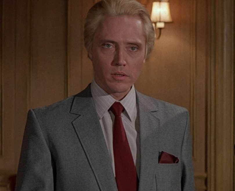 a view to a kill max zorin mayday christopher walken grace jones roger moore james bond 007 spectre movie review 1985 e1617023548577 20 Things You Might Not Have Realised About Christopher Walken