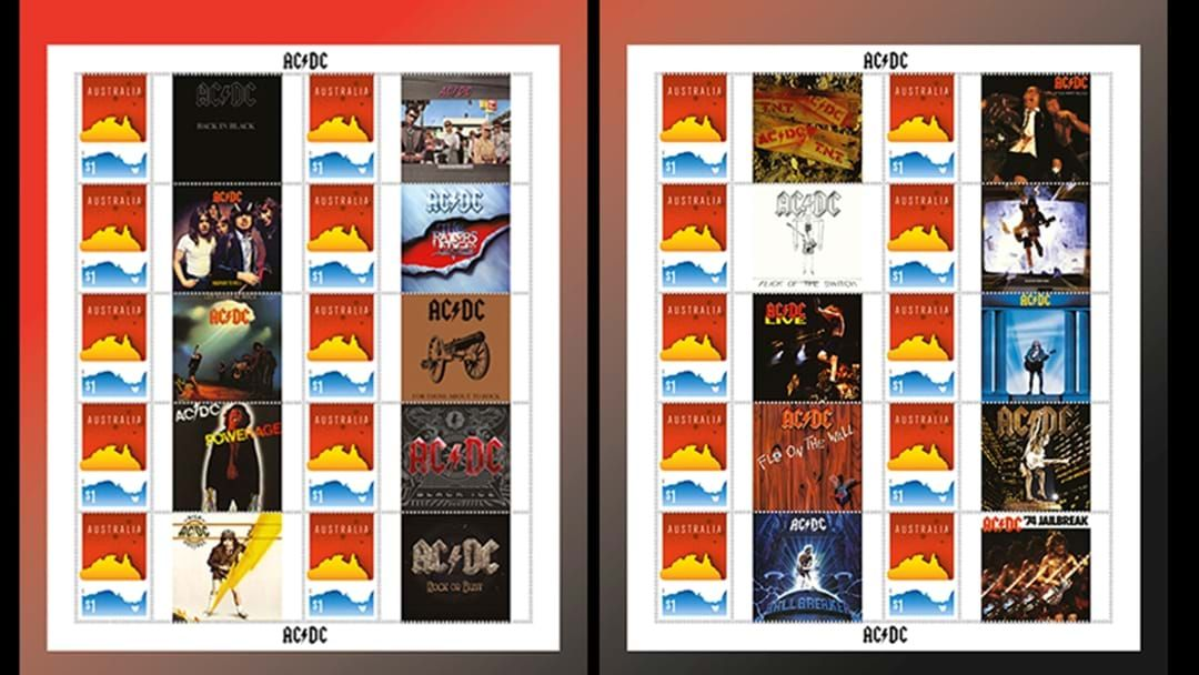 acdc stamps aus post 20 Things You Never Knew About AC/DC