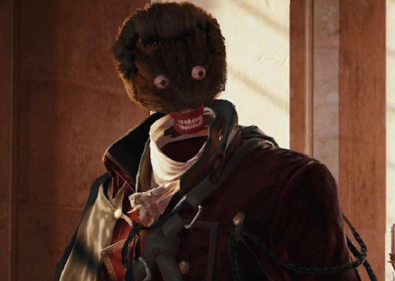 assassin s creed unity face bug.0.0.png e1604586022193 20 Of The Weirdest Video Game Glitches