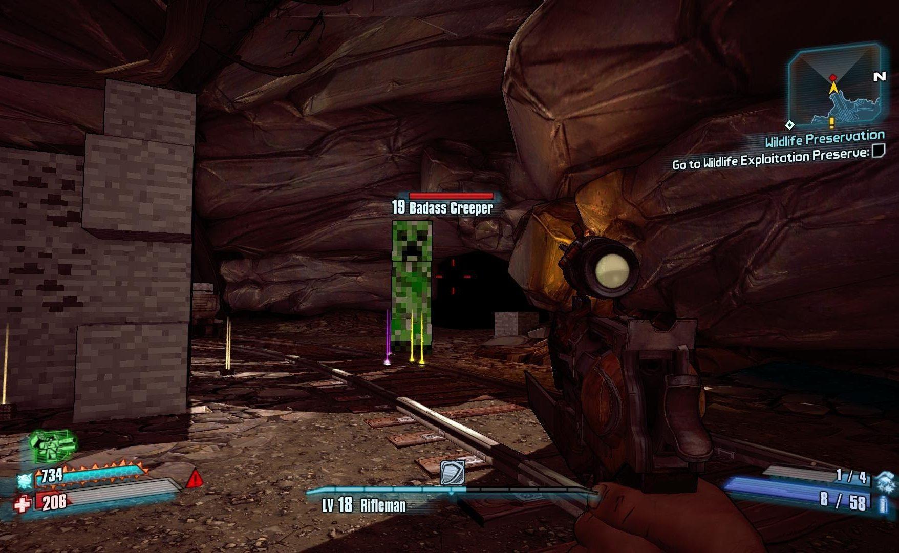 easter eggs article borderlands 2 minecraft e1605110188934 20 Hidden Levels in Video Games