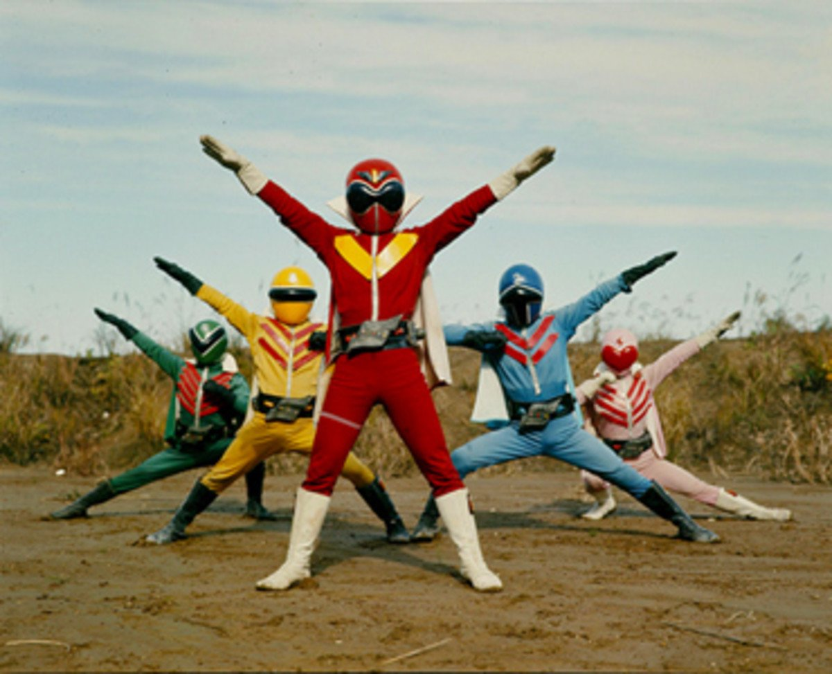 introduction to tokusatsu super sentai 1 20 High-Kicking Facts About Mighty Morphin Power Rangers