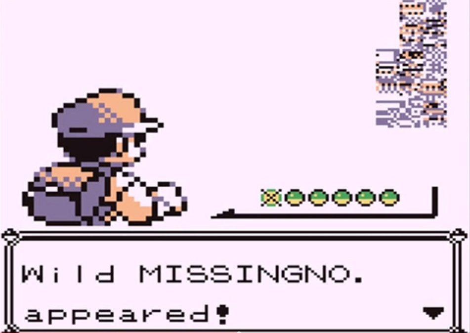 missingno pokemon e1604582499138 20 Of The Weirdest Video Game Glitches