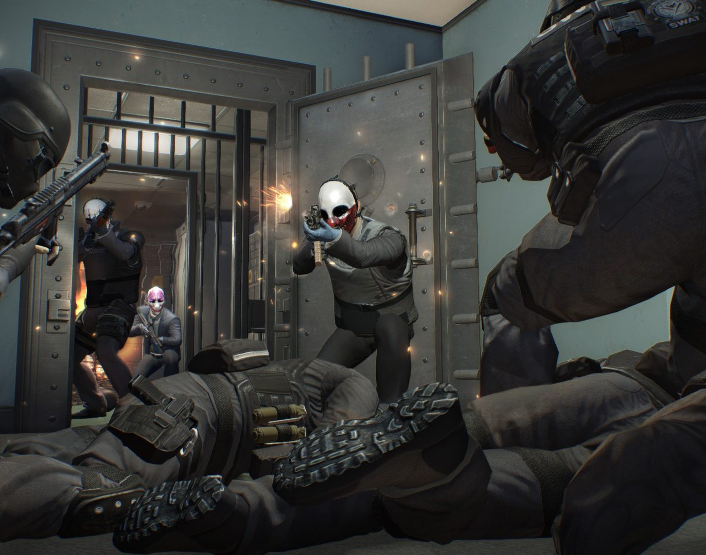 payday2screen7 e1605266105139 20 Video Games You Never Knew Were Inspired By Famous Movies