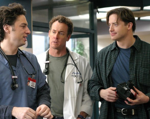 1023691 scrubs season 3 e1607593434576 40 Things You Might Not Have Known About Brendan Fraser