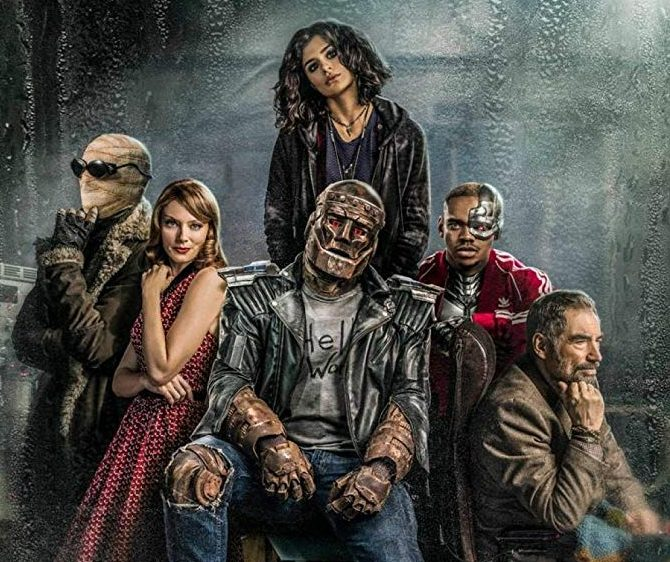 Doom Patrol TV Series e1607593054387 40 Things You Might Not Have Known About Brendan Fraser