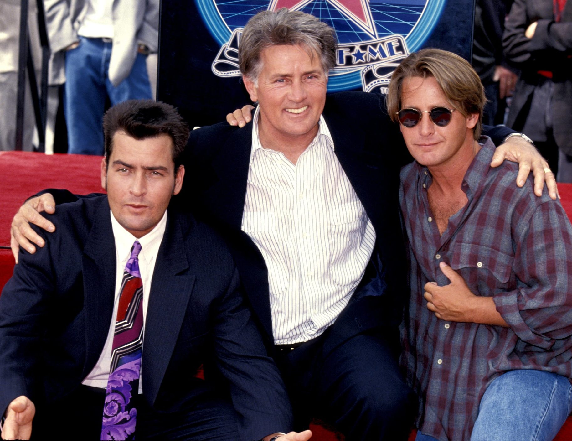Martin Sheen Charlie Sheen Emilio Estevez e1610712894988 20 Things You Probably Didn't Know About The 1983 Film The Outsiders