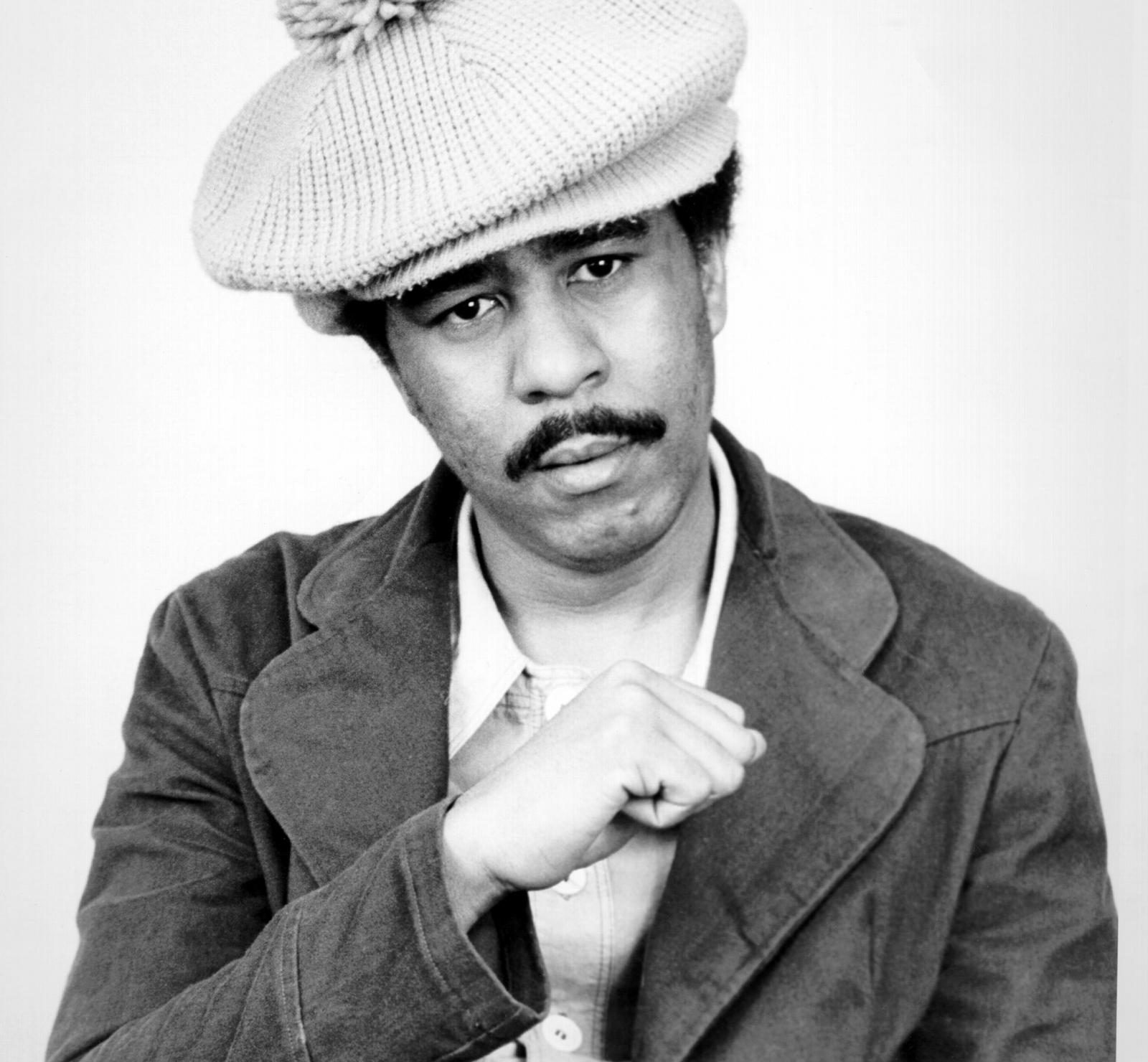 Richard Pryor making a fist black and white LARGE e1607618850322 20 Things You Might Not Have Known About Richard Pryor