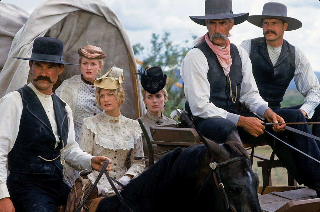 SamElliott2013Tombstone 20 Famous Films That Had Almost Identical 'Twins'