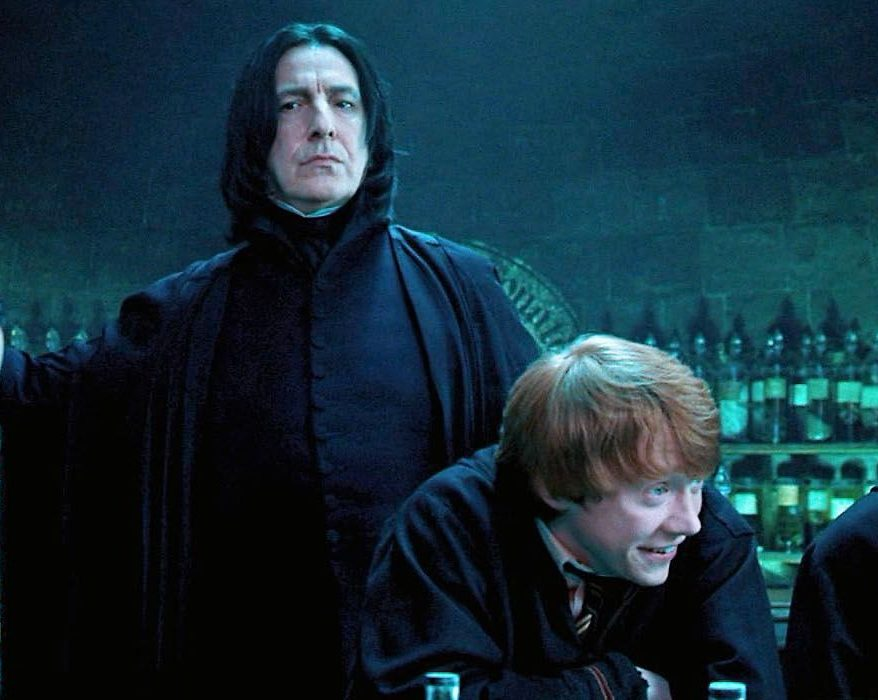 Snape Ron Harry potter e1615387815248 20 Things You Might Not Have Realised About The Late Alan Rickman