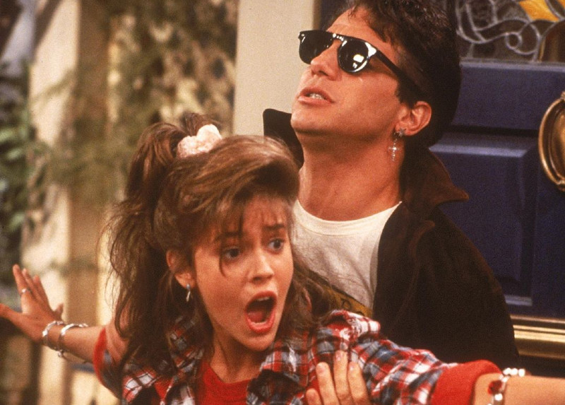 Whos The Boss Alyssa Milano and Tony Danza Instagram 20 Things You Probably Didn't Know About Alyssa Milano