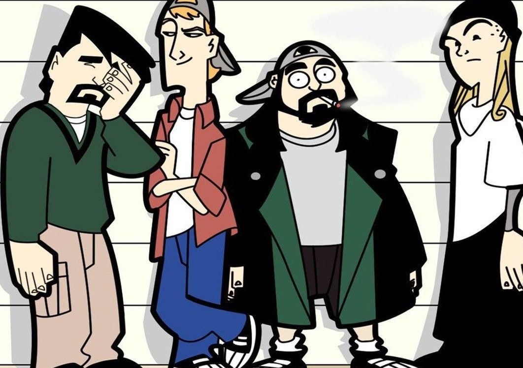 clerks the animated series 1 e1615380153208 20 Things You Might Not Have Realised About The Late Alan Rickman