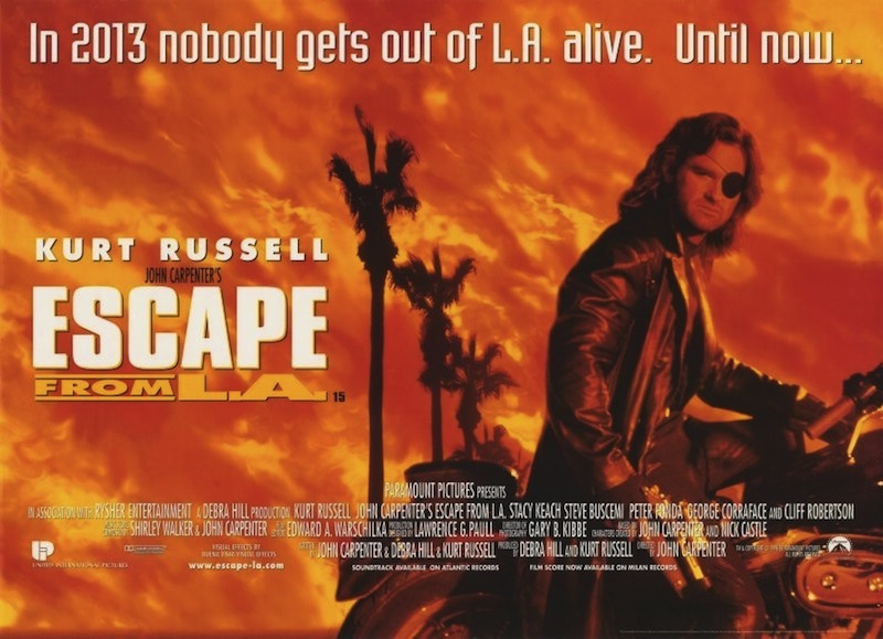 escape from l a movie poster 20 Things You Didn't Know About Escape From LA