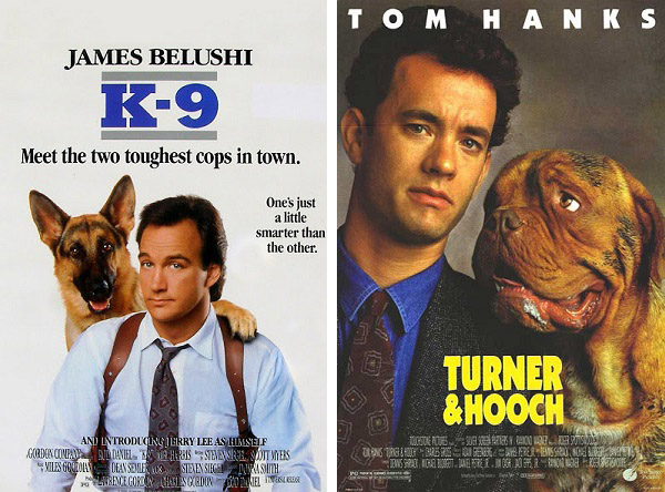 k 9 vs th copy 20 Famous Films That Had Almost Identical 'Twins'