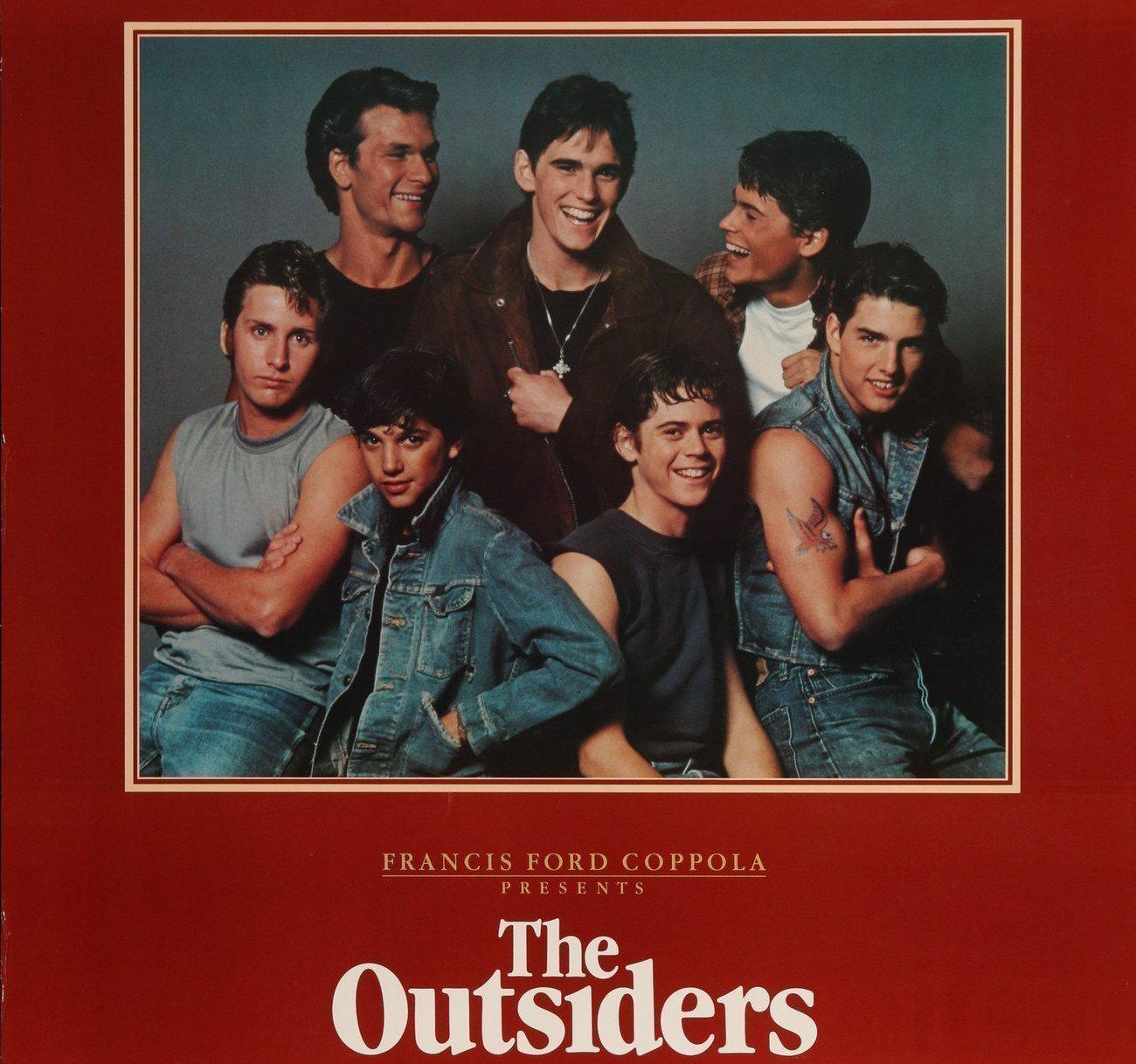 the outsiders vintage movie poster original 1 sheet 27x41 6999 1356x e1610704658123 20 Things You Probably Didn't Know About The 1983 Film The Outsiders