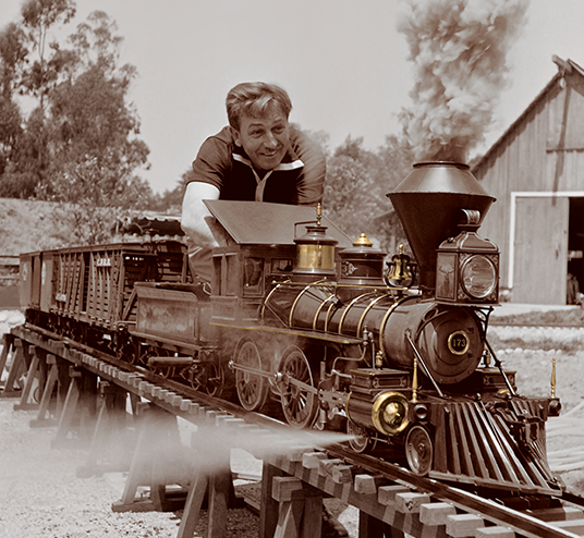 the walt disney family museum celebration of walt trains 2 e1608124005782 20 Magical Facts You Might Not Have Known About Walt Disney