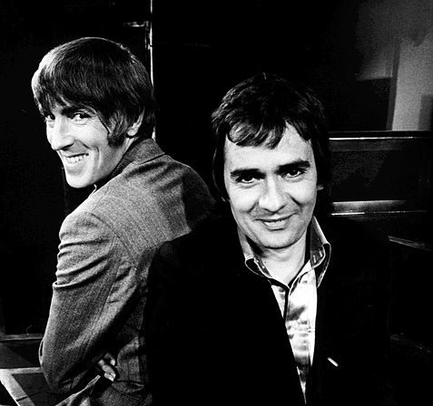 477px Peter Cook Dudley Moore Good Evening 1974 e1610122592882 20 Things You Never Knew About Dudley Moore