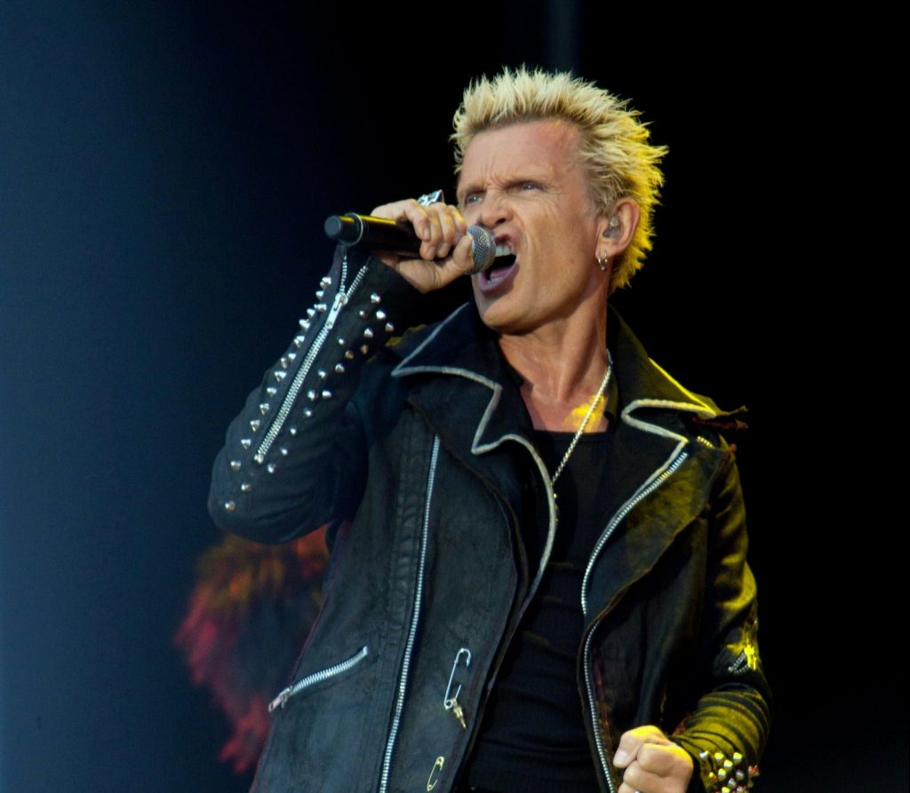 Billy IDOL 2012 e1614937492482 1024x893 1 20 Things You Probably Didn't Know About Billy Idol