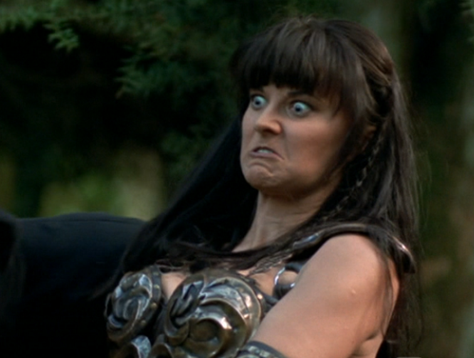 Xena paused in action xena warrior princess 23971318 666 503 20 Things You Never Knew About Xena: Warrior Princess