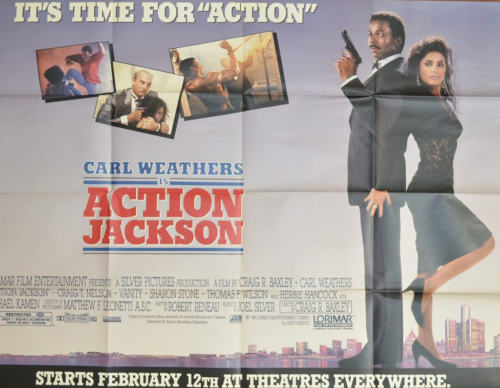 action jackson cinema subway movie poster 1 e1615455465359 30 Things You Never Knew About Carl Weathers