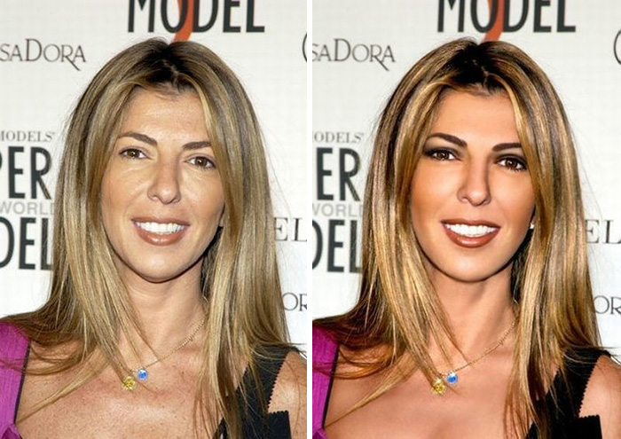 before after photoshop celebrities 1 57d010f32a028 700 The Before & After Photoshop Pictures Of These Celebrities Are Unreal