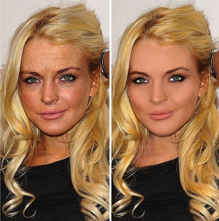 before after photoshop celebrities 14 57d0110bc733d 700 The Before & After Photoshop Pictures Of These Celebrities Are Unreal
