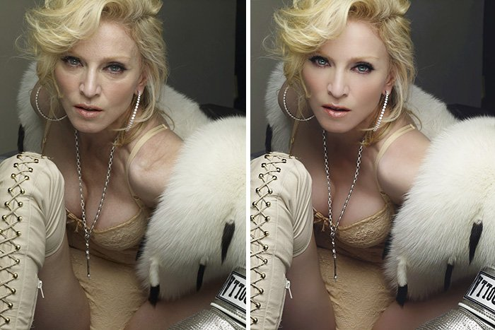 before after photoshop celebrities 15 57d0110dd4fce 700 The Before & After Photoshop Pictures Of These Celebrities Are Unreal