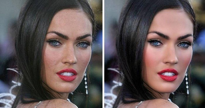 before after photoshop celebrities 16 57d0110fa2b8d 700 The Before & After Photoshop Pictures Of These Celebrities Are Unreal