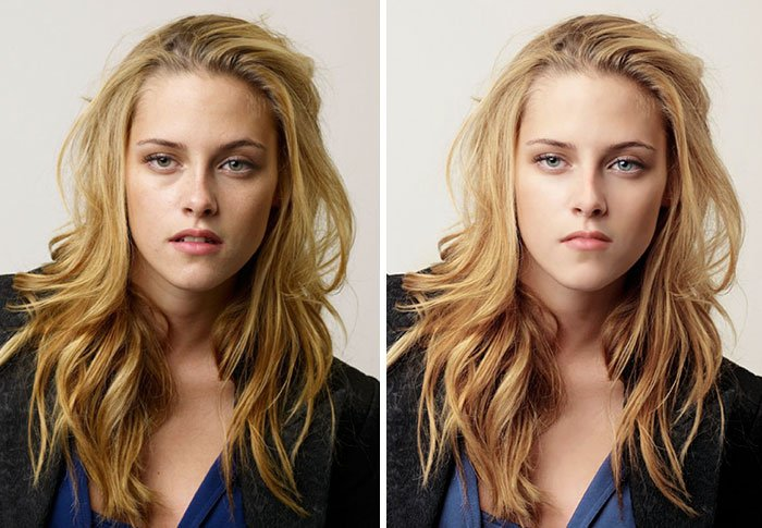 before after photoshop celebrities 2 57d010f560993 700 The Before & After Photoshop Pictures Of These Celebrities Are Unreal