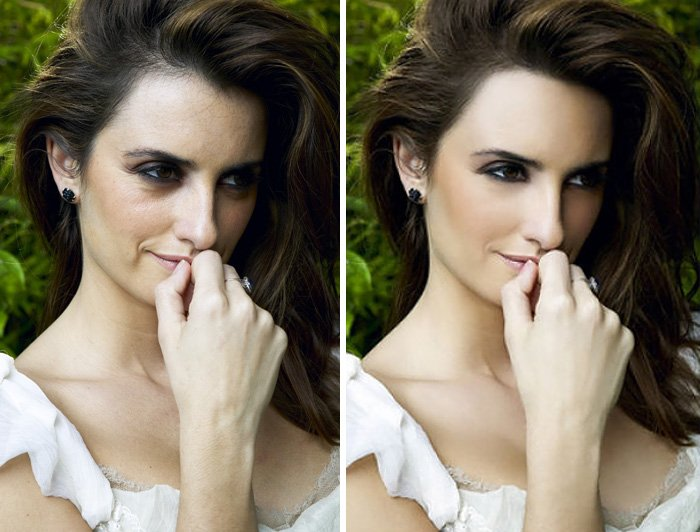 before after photoshop celebrities 20 57d01119e8386 700 The Before & After Photoshop Pictures Of These Celebrities Are Unreal