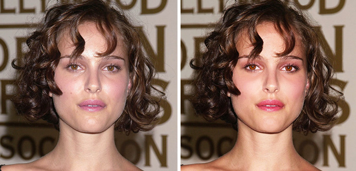 before after photoshop celebrities 27 57d025f27220f 700 The Before & After Photoshop Pictures Of These Celebrities Are Unreal