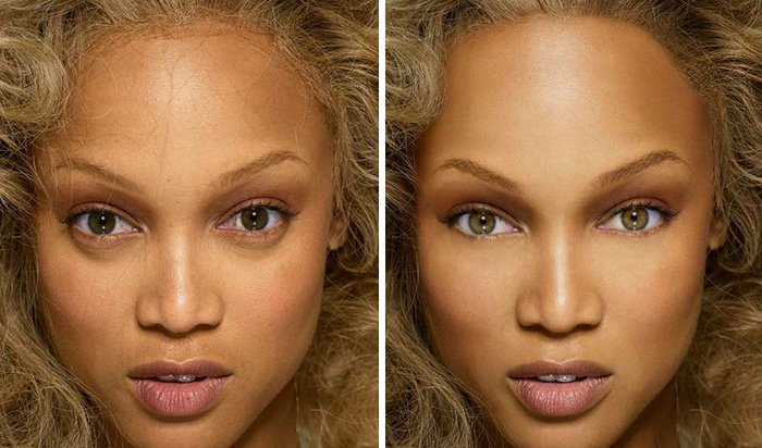 before after photoshop celebrities 30 57d115aabc110 700 The Before & After Photoshop Pictures Of These Celebrities Are Unreal