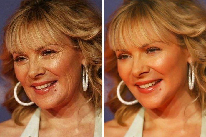 before after photoshop celebrities 4 57d010f96665d 700 The Before & After Photoshop Pictures Of These Celebrities Are Unreal