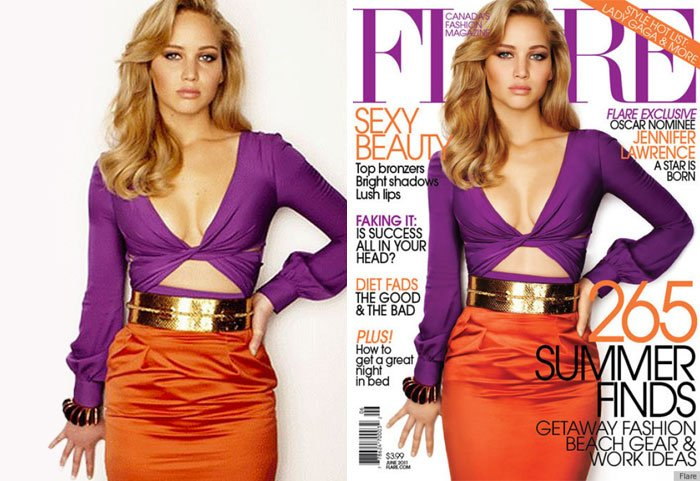 before after photoshop celebrities 59 57d16f55b1114 700 The Before & After Photoshop Pictures Of These Celebrities Are Unreal