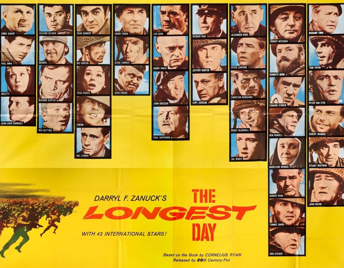 longest day 1962 six sheet original film art 5000x e1611762020788 The Remarkable Life Of Richard Burton