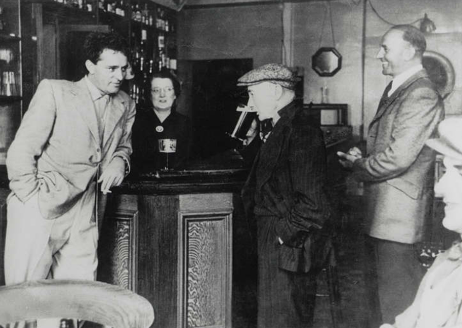 richard burton drinking with his father richard walter jenkins and brother in the miners arms pont rhyd y fen wales 1953 The Remarkable Life Of Richard Burton