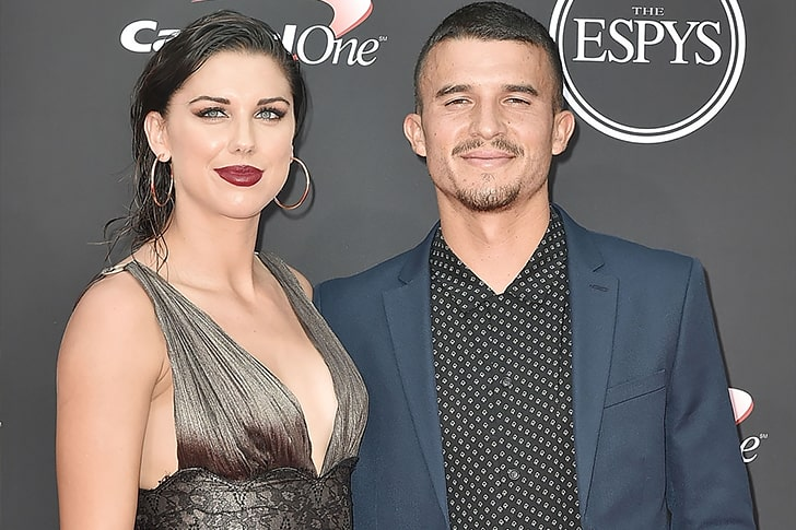 Alex Morgan Servando Carrasco min True Love Exists In Hollywood And These Celebrity Couples Prove It