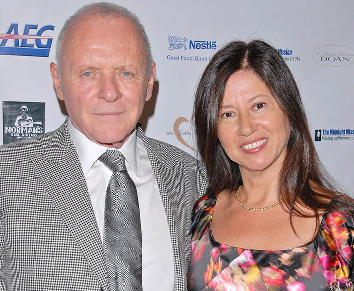 Anthony Hopkins Stella Arroyave min True Love Exists In Hollywood And These Celebrity Couples Prove It