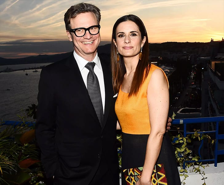 Colin Firth and Livia Giuggioli True Love Exists In Hollywood And These Celebrity Couples Prove It