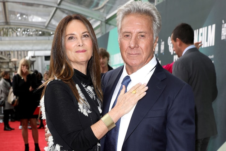 Dustin Hoffman and Lisa Gottsegen min True Love Exists In Hollywood And These Celebrity Couples Prove It