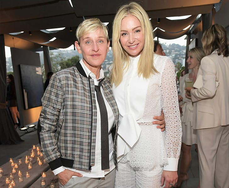 Ellen DeGeneres and Portia de Rossi True Love Exists In Hollywood And These Celebrity Couples Prove It