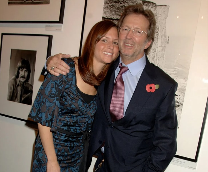 Eric Clapton Melia McEnery min True Love Exists In Hollywood And These Celebrity Couples Prove It