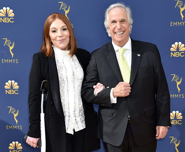 Henry Winkler Stacey Weitzman True Love Exists In Hollywood And These Celebrity Couples Prove It